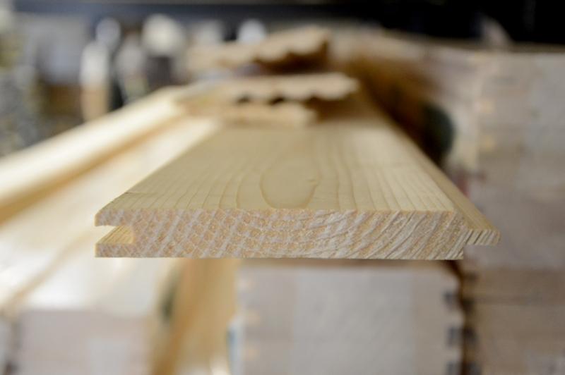 Obkladové palubky 15 x 121 x 4200 mm, klasik A/B smrk