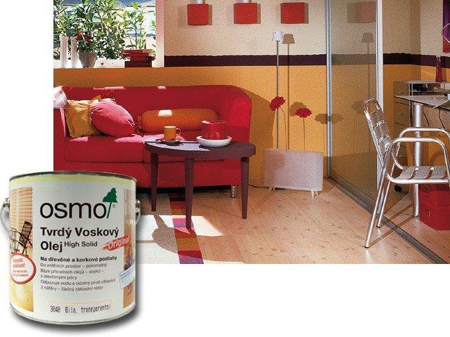 Osmo Tvrdý voskový olej barevný 3040 bílý 2,5 l
